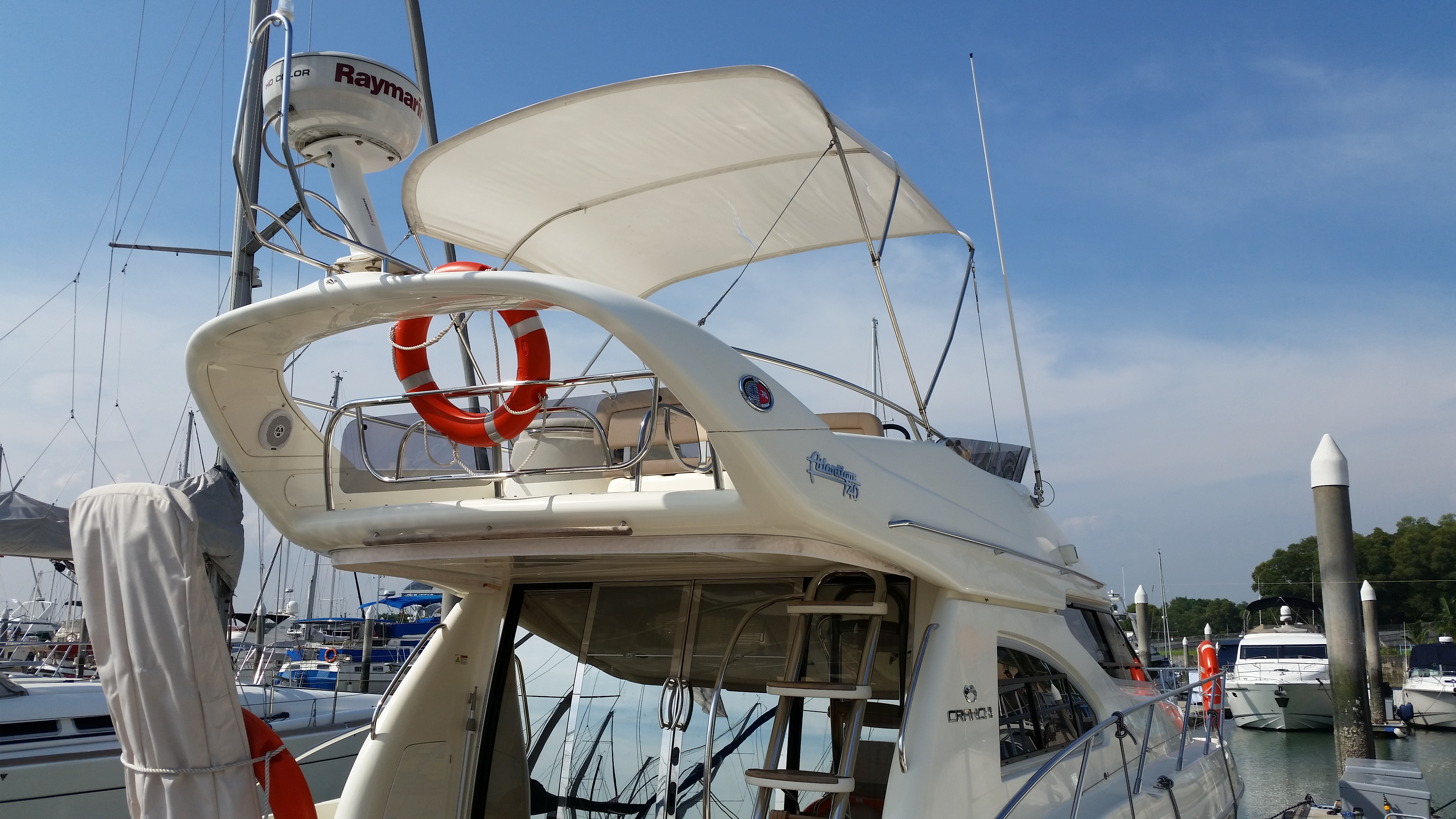 Boat Awning | My Canvas Connection